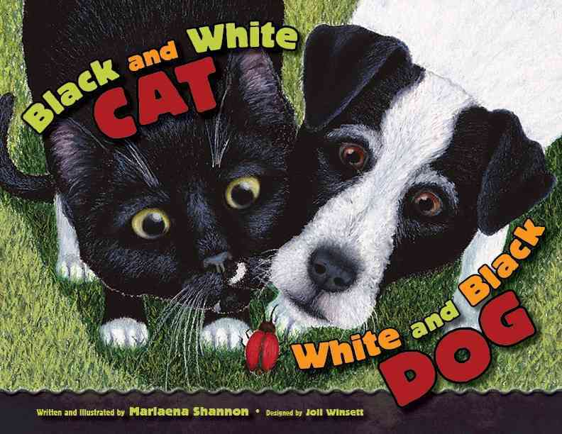 Black and White Cat, White and Black Dog By Shannon, Marlaena/ Shannon, Marlaena (ILT)